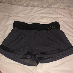 VS Pink grey ultimate shorts size M medium